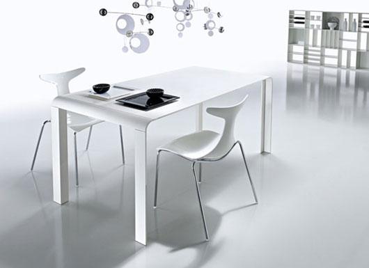 Design Interior Minimalis: Mesa Moderna para Comedor para ...