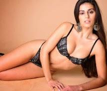 Eden Ricco Miss Fanática Record Dezembro 2013