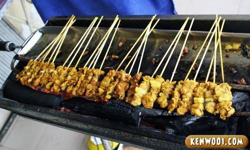 malacca pork satay