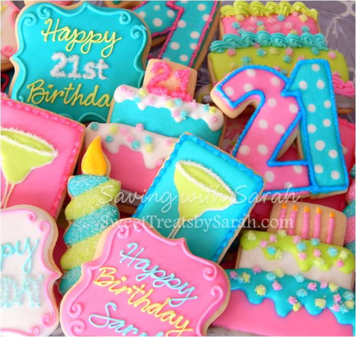 Sweet Treats By Sarah: Happy Happy Birthday To You