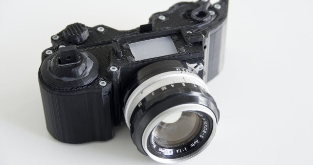 OpenReflex, the First Open Source 3D Printable SLR Camera