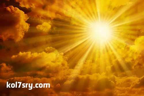حقيقة وتفاصيل العاصفة الشمسية التي تضرب الأرض خلال أيام , حالة الطقس الايام المقبلة