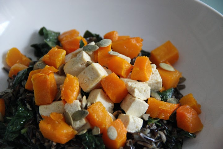 Project Little Smith: Miso Wild Rice with Winter Squash and Tofu