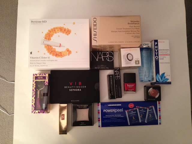 Sephora VIB Haul Fall 2012