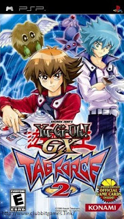 Link Yu Gi OH! GX Tag Force 2 PSP iso clubbit
