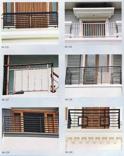 Inilah inspirasi Model Railing Tangga Dan Balkon yg keren