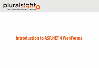 Pluralsight – Introduction to ASP.NET 4 WebForms