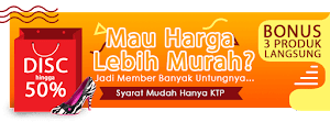 Gabung Member Agar Dapat Harga Termurah
