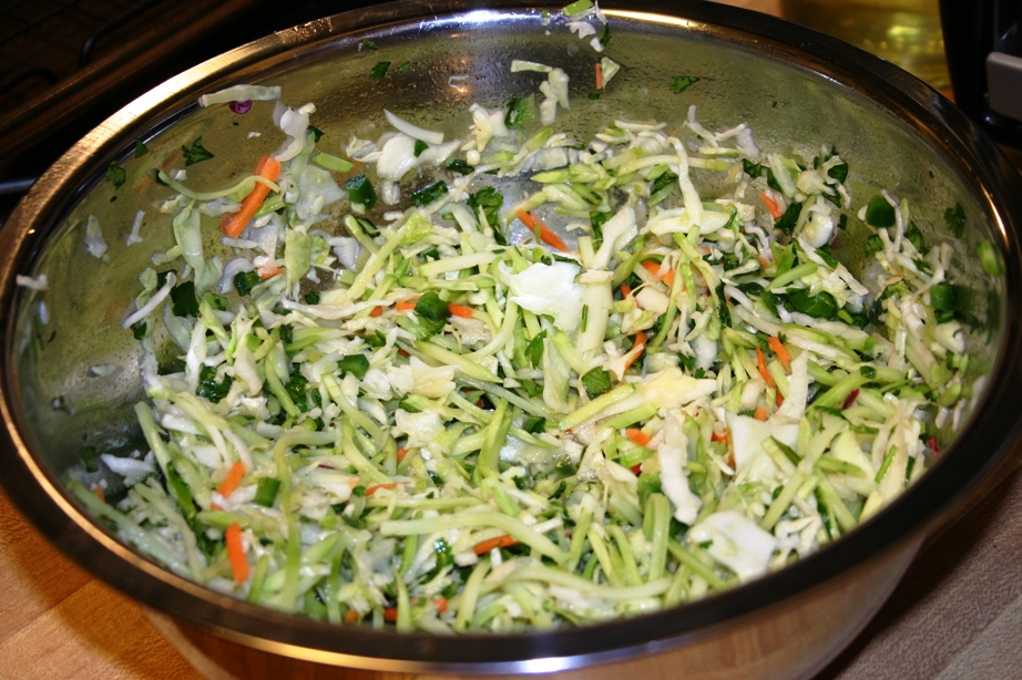 spicy mexican slaw with lime and cilantro recipes dishmaps lime slaw ...