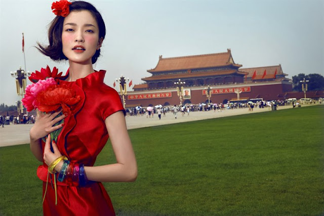 Las fotos de Chen Man: East Meets West