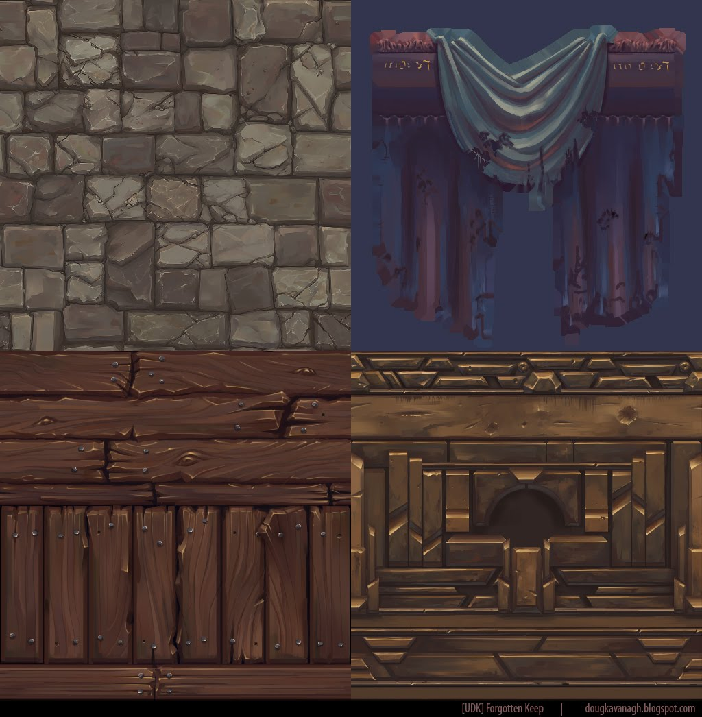 Unity Hand Painted D Tiles