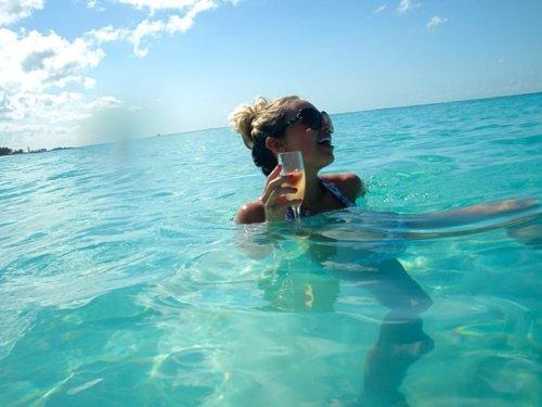 Champagne brunch ocean beach