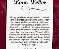 Adorable love letters for her