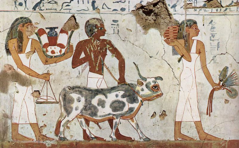 Sabidur as de las culturas antiguas la religi n en el for Cuales son las caracteristicas de un mural