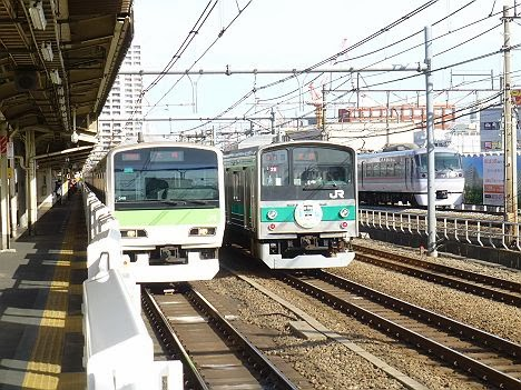 埼京線205系ハエ28編成に「ありがとう205系」HM掲示