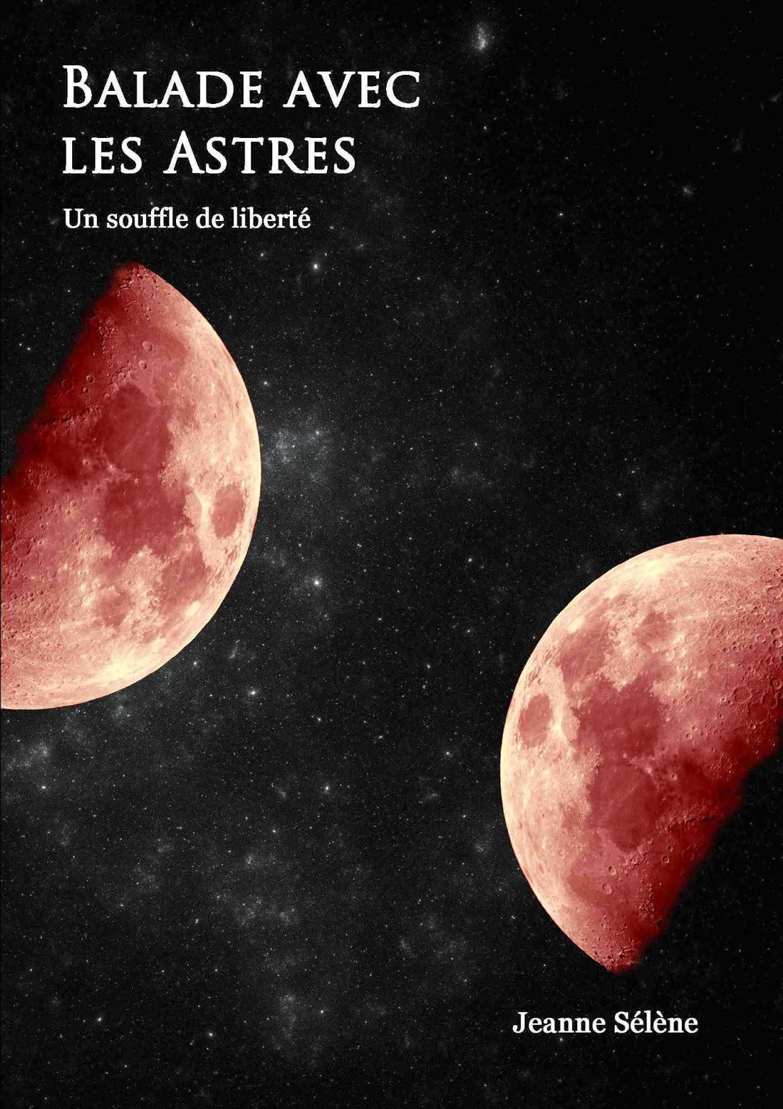 livre de fantasy balade avec les astres jeanne sélène