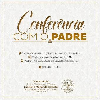 Conferências com o Padre