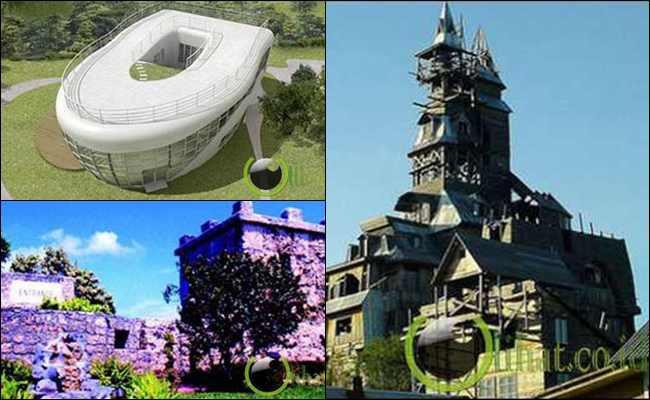 5 Rumah Teraneh yang juga Memiliki Sejarah di Dunia