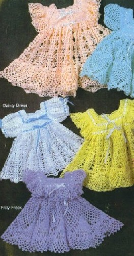 Free Crochet Patterns To Download For Babies : Free Baby Dress Crochet Patterns ~ Free Crochet Patterns
