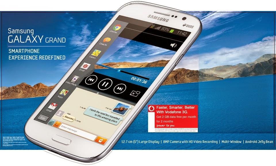 Harga, Fitur, dan Spesifikasi Samsung Galaxy Grand GT-I9082
