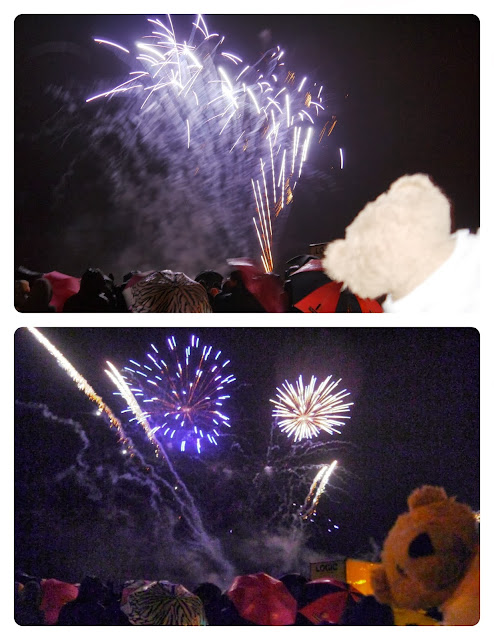 Omnibear at Burnham on Sea Fireworks