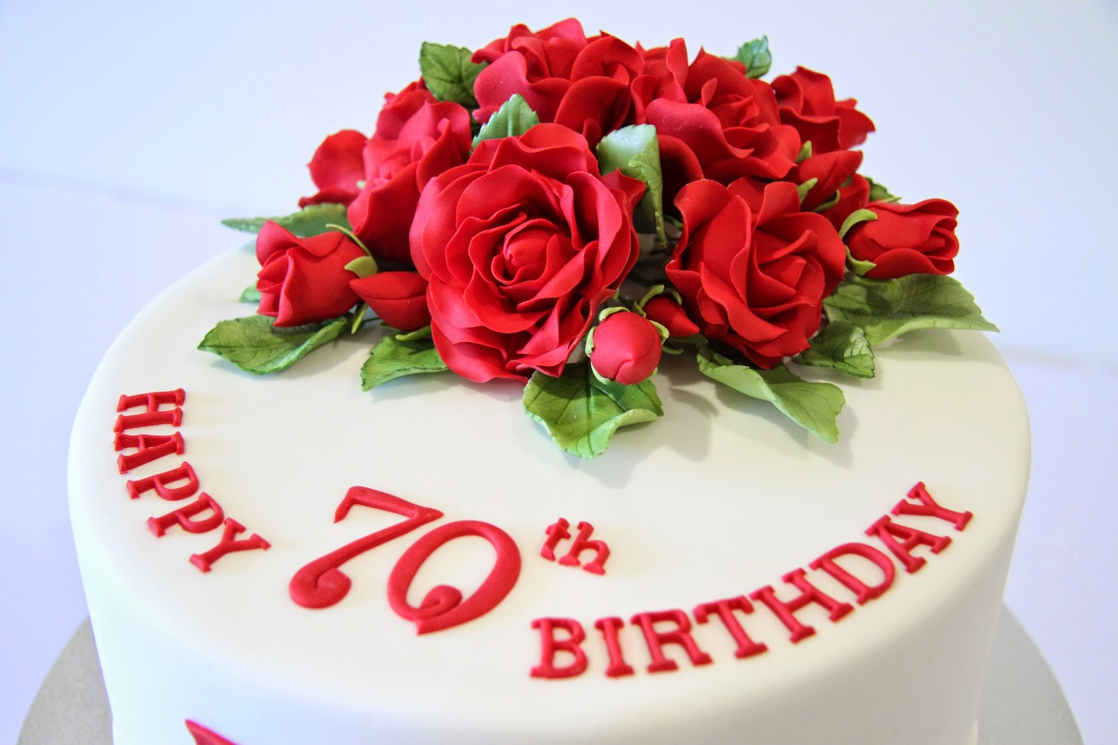 Leonies Cakes and Parties 70th Birthday Cake