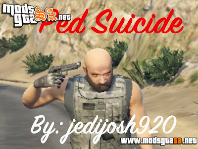 V - Mod Ped Suicide (Pedestre Suicídio) para GTA V PC