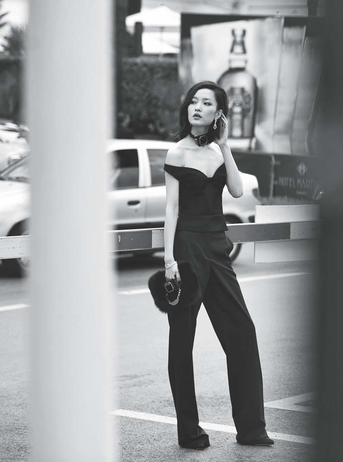 Du Juan shot by Chai Lizeng for Harper's Bazaar China August 2012