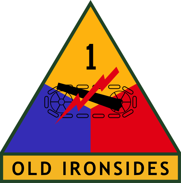 1st armored divi...1st Cavalry Patch Meaning