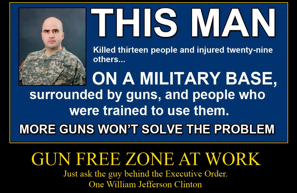 gunfree01+ +Copy zombie rush gun free zone education,Gun Free Zone Meme