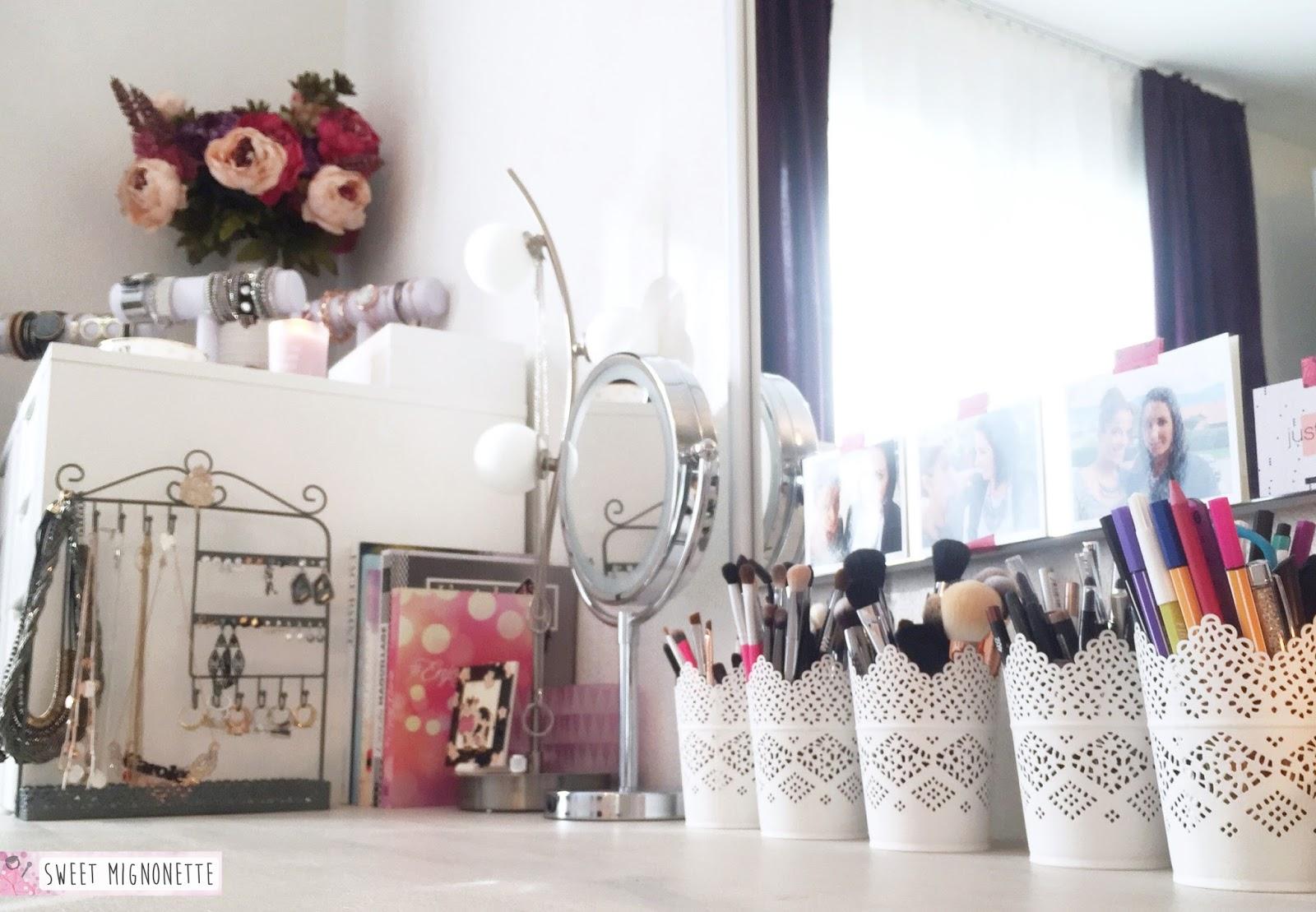rangement maquillage fait maison latest rangement a maquillage boite de rangement organiseur. Black Bedroom Furniture Sets. Home Design Ideas