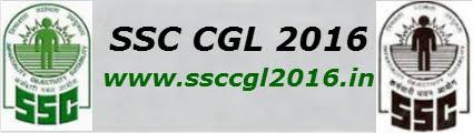 SSC CGL 2016