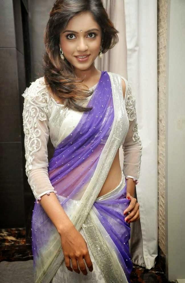 Actress Vithika Seru In Half Saree