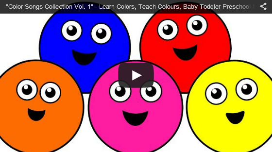 Animation Video for Kids: Color Songs Collection Vol. 1 - Learn ...