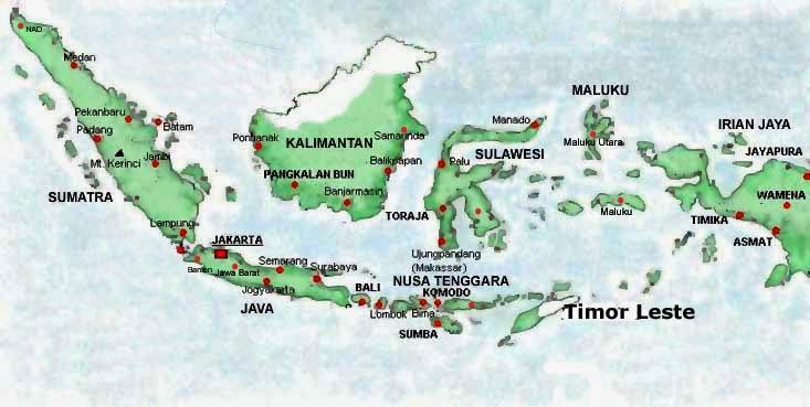 Nama Nama Pulau Dan Kepulauan Di Indonesia