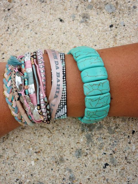 Look Mode bracelet Hipanema et  Tadoupika été 2015