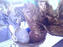 Almoço de Páscoa e Chocolate