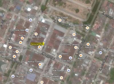 Terminal Kopi on Map