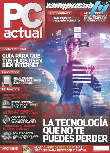 Revista PC Actual N°258 Enero 2013 Español