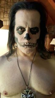 Glenn Danzig - skull face - 2015