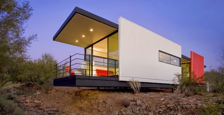 Tu casa modular prefabricada vivienda modular en el desierto - Casa modular prefabricada ...