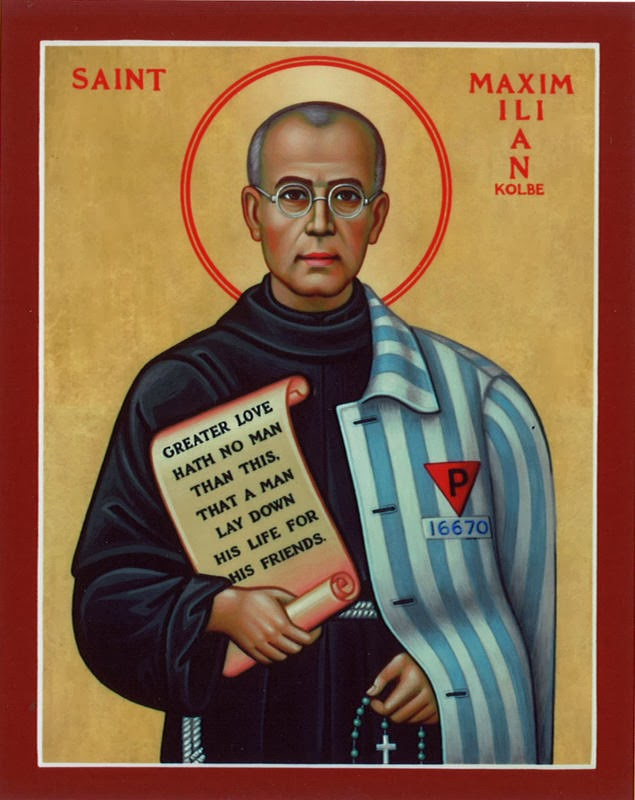 St. Maximilian Kolbe, Pray For Us!