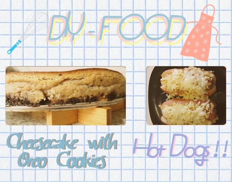 receta tarta de queso con oreo y perro caliente