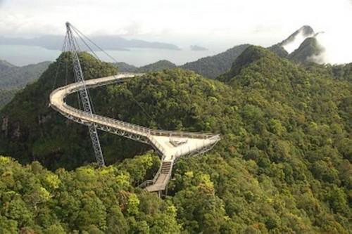 Puentes más curiosos del mundo - Langkawi Sky, Malasia