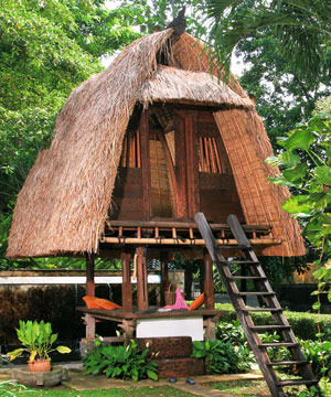 Jineng, Balinese traditional house