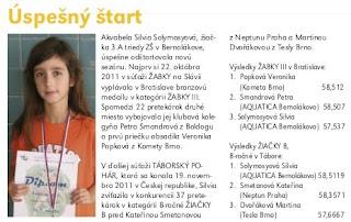 Časopis Bernolák č. 4/2011:Úspešný štart