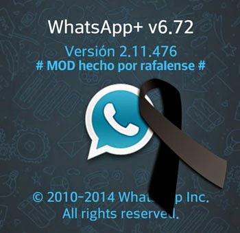 Whatsapp Plus cierra después de varios años mejorando el cliente oficial de Whatsapp.