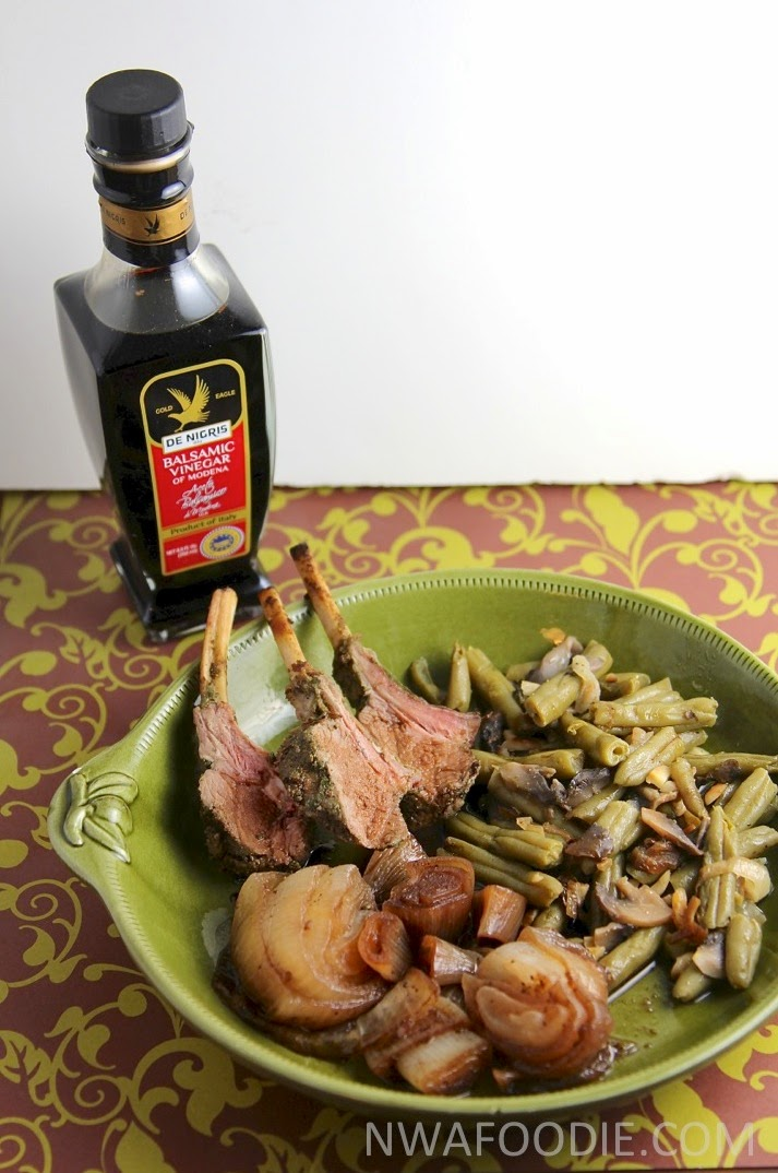 #denigris1889 Pan roasted sweet onions with balsamic - gold eagle (c)nwafoodie