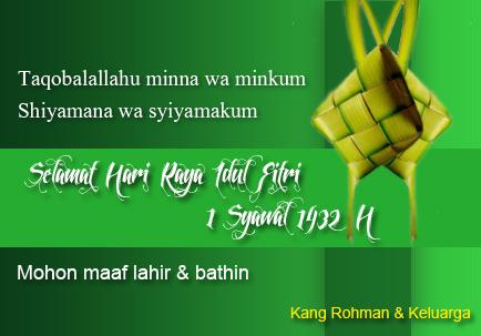 hari raya idul fitri 1432H
