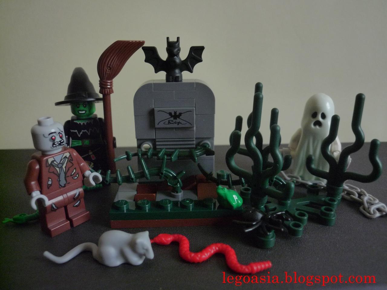 Lego Asia Lego 850487 Halloween Set Review